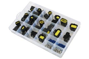 Connect 37417 Assorted AMP Econoseal J Series Connectors 38 Pc